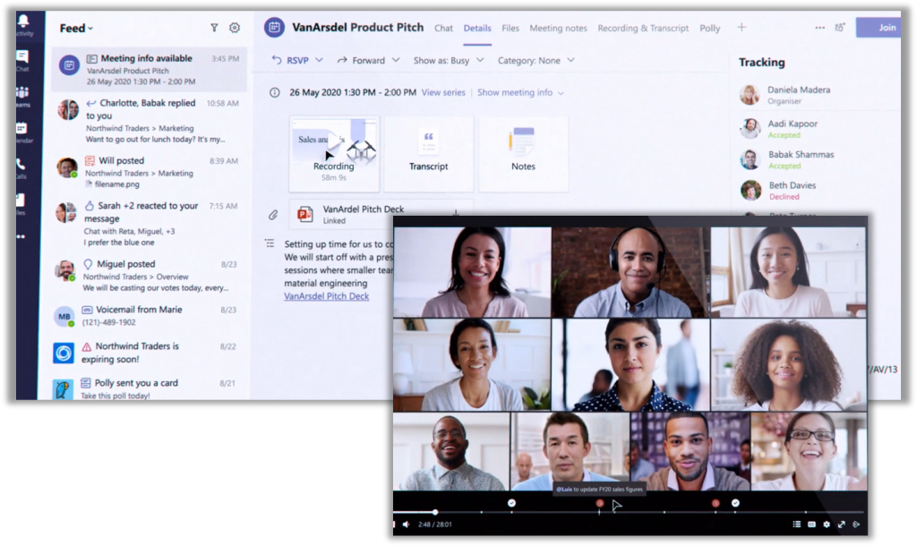 Meeting recaps will centralize information about a meeting, making it easier for people to catch up