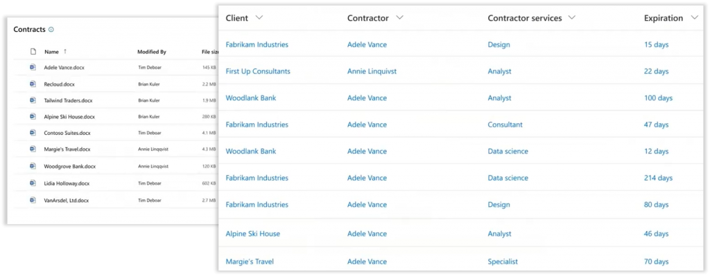Automatically-applied metadata in SharePoint Online with Syntex