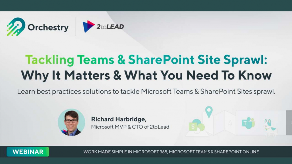Tackling Teams and SharePoint Site Sprawl Webinar