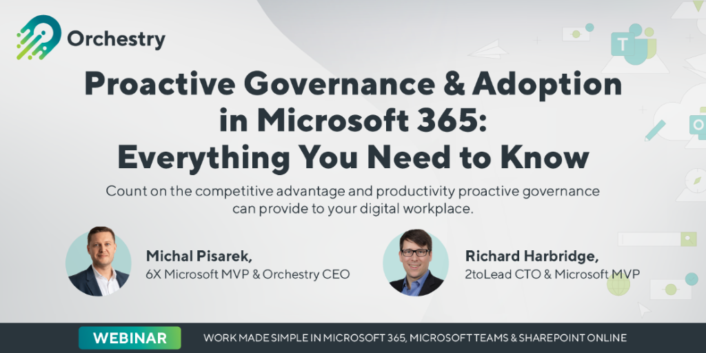 2toLead and Orchestry Webinar on Proactive IT Governance Practices and Adoption