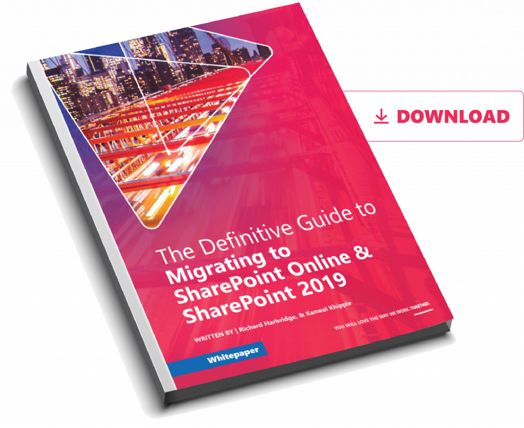 Whitepaper with tips on how your org can migrate to sharepoint