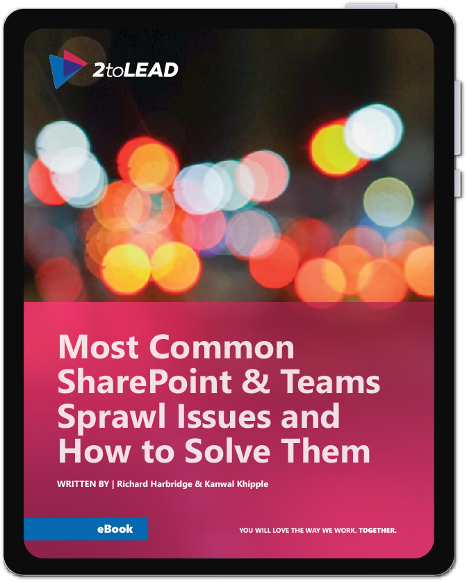 SharePoint and Teams Sprawl eBook by 2toLead