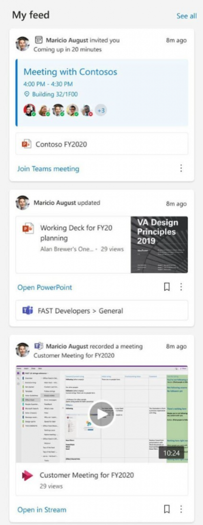 my feed web part - SharePoint