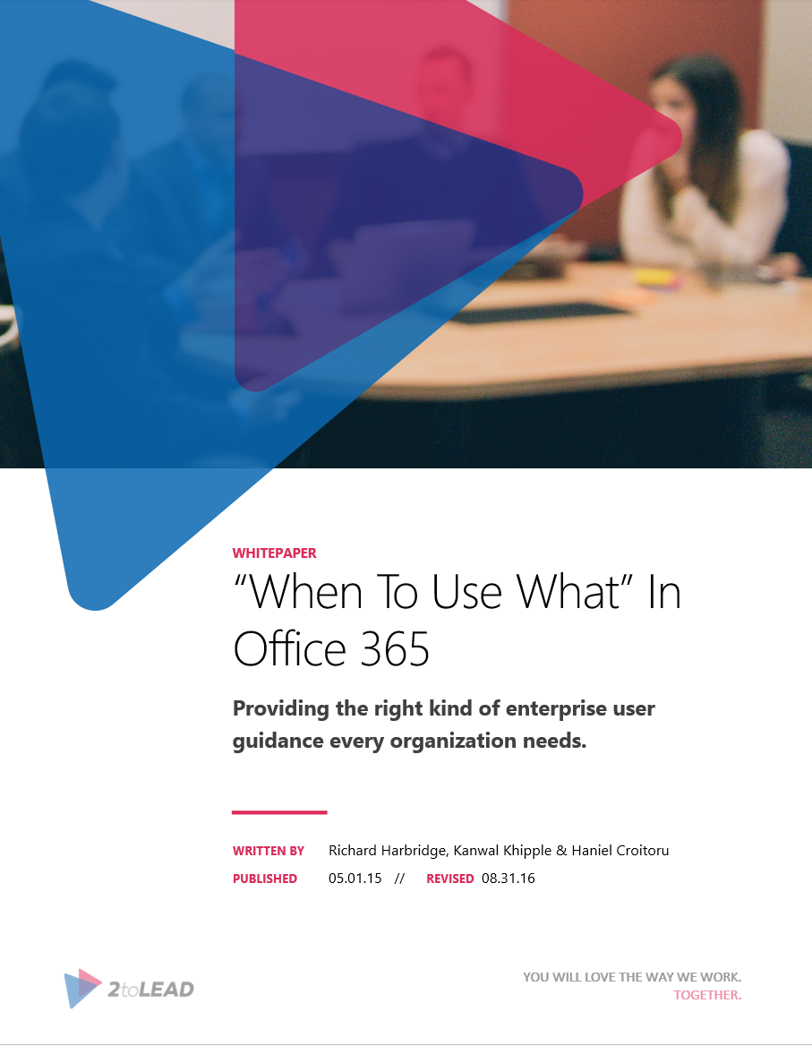 when to use what in office 365